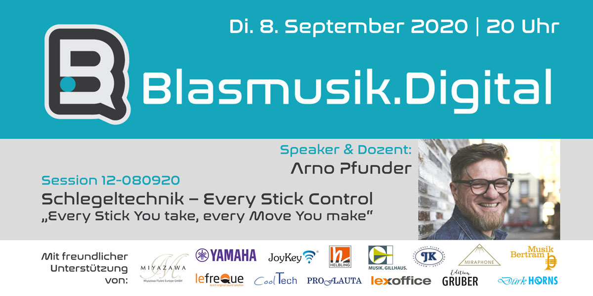12 080920 Arno Pfunder Blasmusik Digital 1
