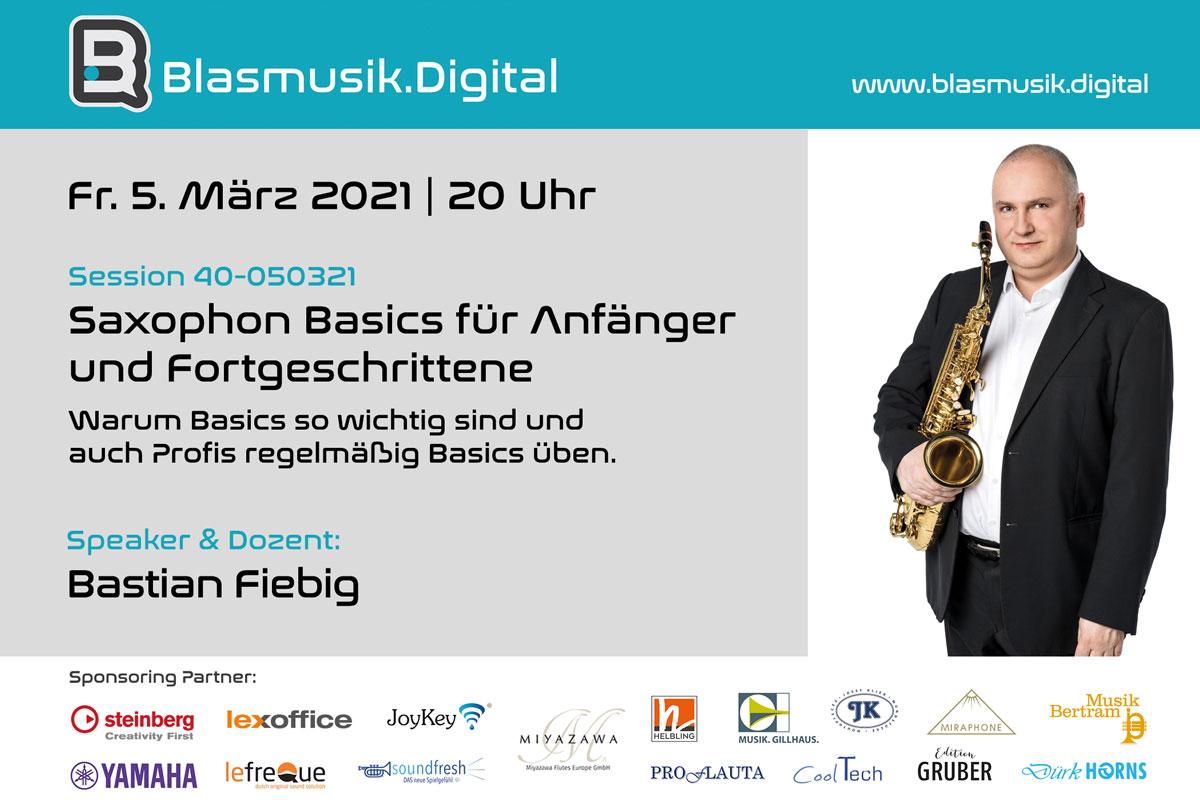Bastian Fiebig - Speaker bei Blasmusik.Digital - Die Online Akademie für Blasmusiker