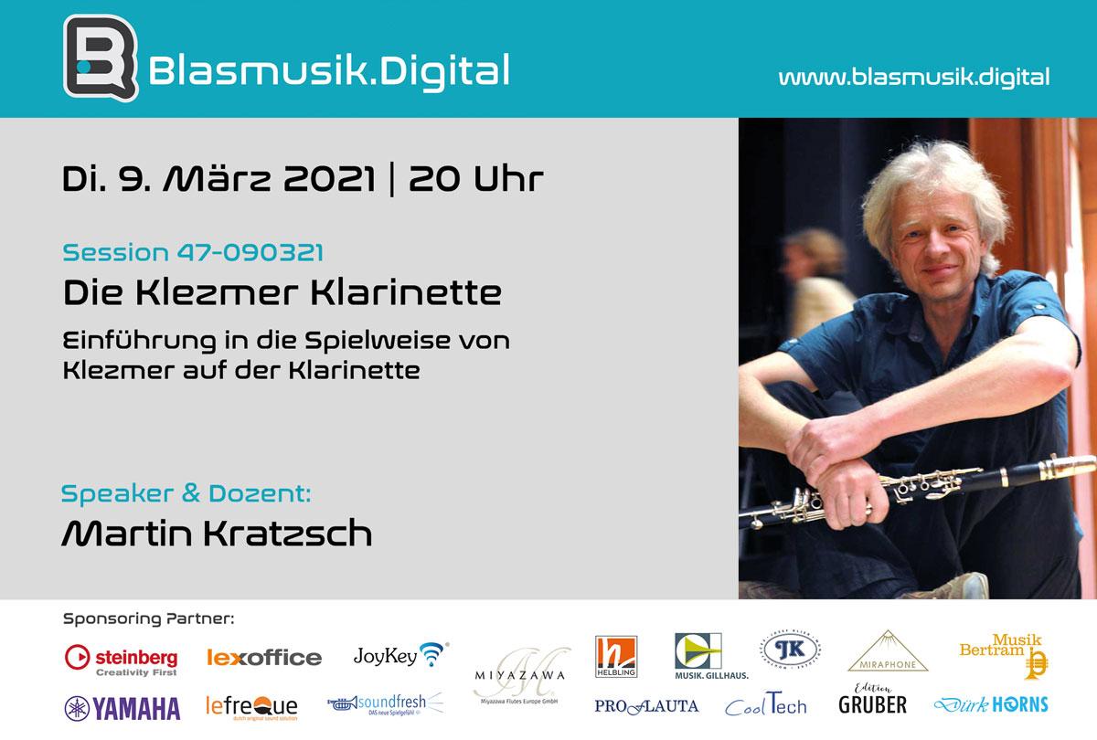 Die Klezmer Klarinette - Martin Kratzsch