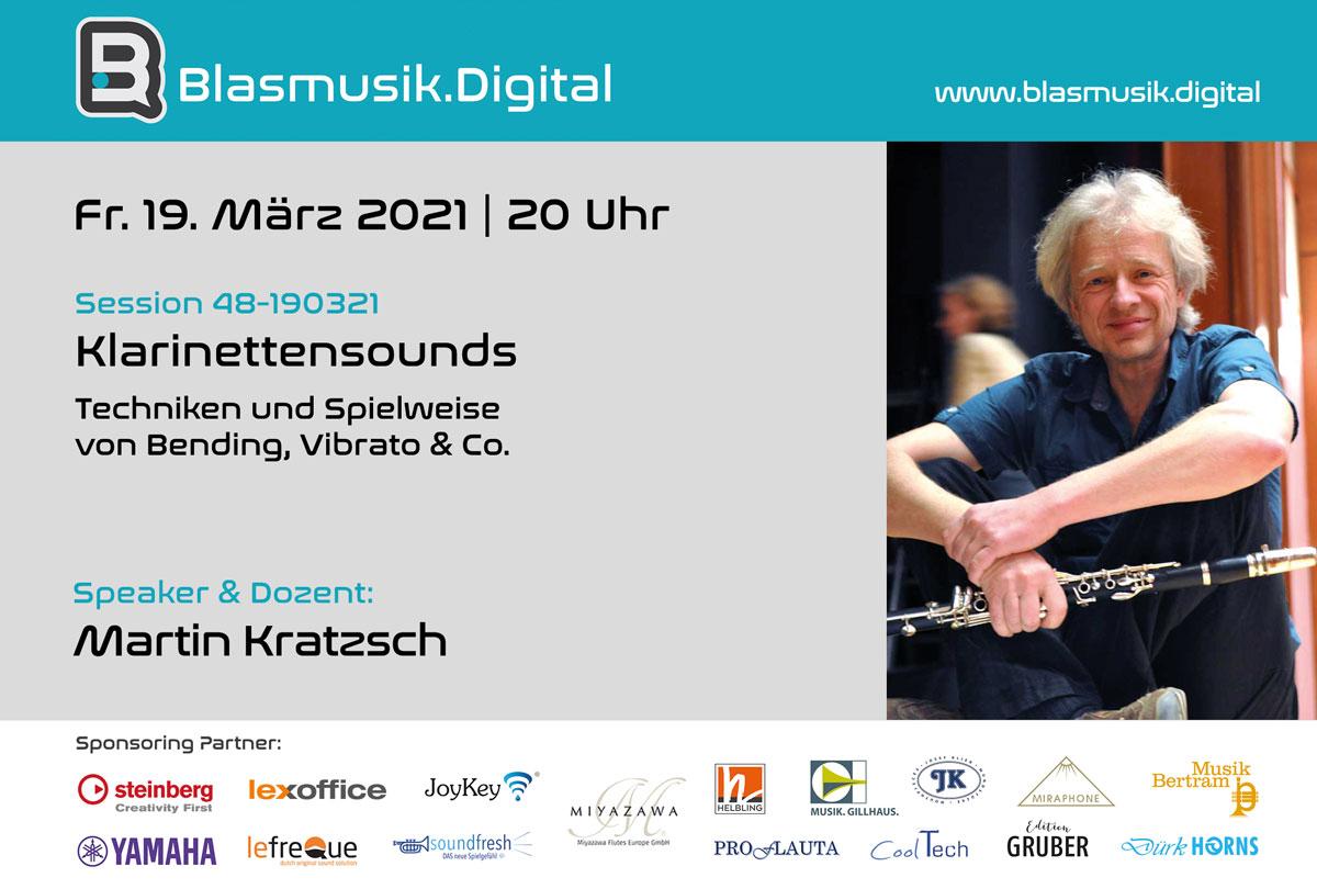 Klarinettensounds - Martin Kratzsch