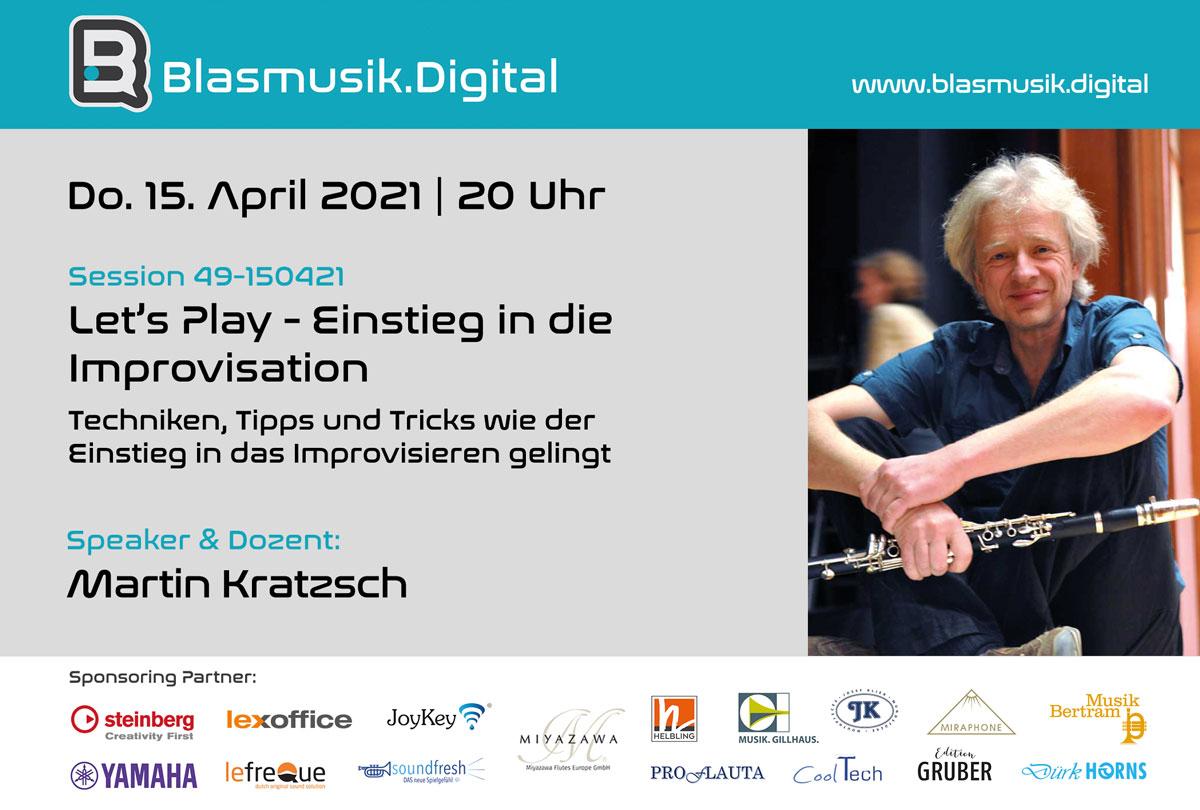 Einstieg in die Improvisation - Martin Kratzsch