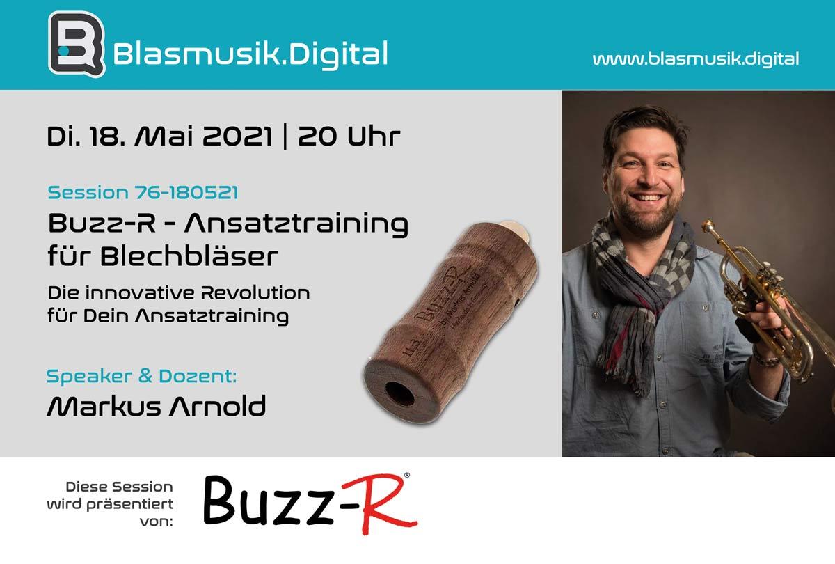 Buzz-R - Ansatztraining für Blechbläser