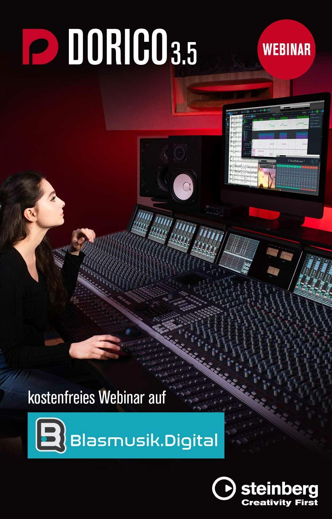 Steinberg Media Technologies GmbH - Sponsor von Blasmusik.Digital
