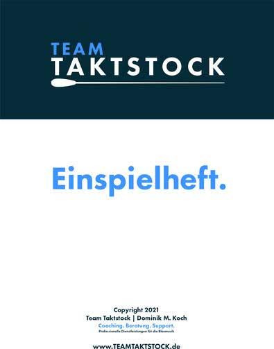 Einspielheft von Team Taktstock