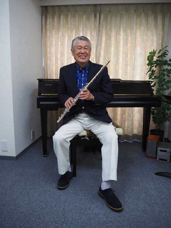 Masashi Miyazawa Gründer Miyazawa Flutes
