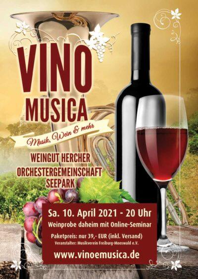 Vino Musica Digitale 2021 - Orchestergemeinschaft Seepark