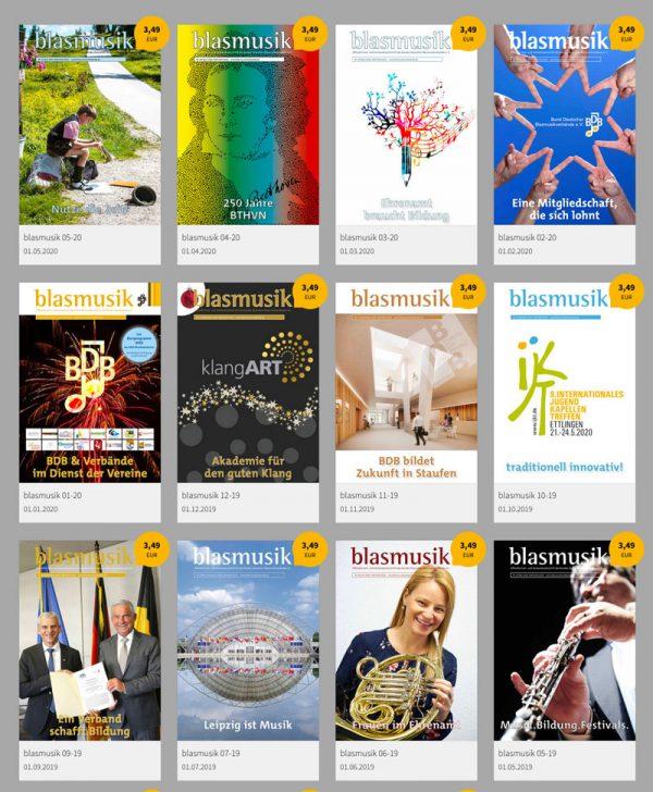 Zeitschrift blasmusik