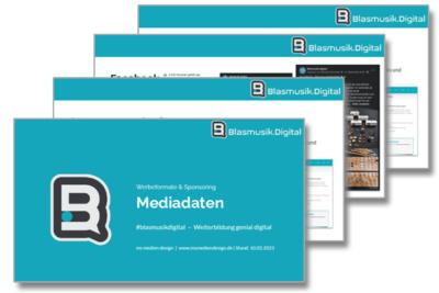 Mediadaten - Sponsoring von Blasmusik.Digital