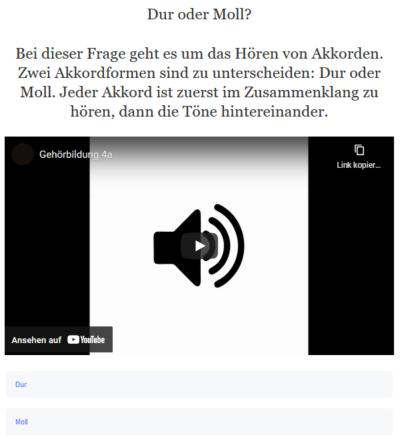 Beispiel Screenshot OBV JMLA