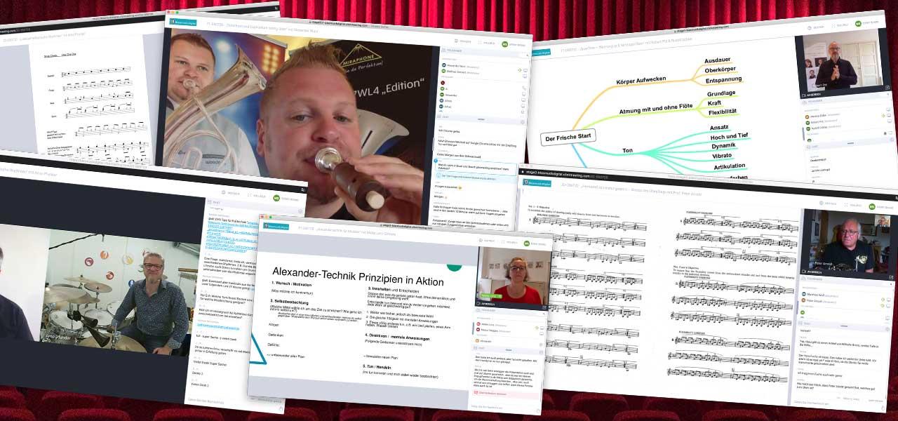 Screen Blasmusik.Digital Eröffnung